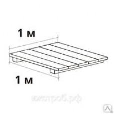 Настил деревянный (1х1м)