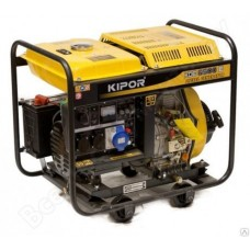 Дизельный генератор KIPOR  KDE 6500 EЗ в наличии в Ижевске от компании Строительное оборудование Ижевск.