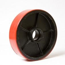 Колесо металл полиуретан  160х50 в наличии в Ижевске от компании Строительное оборудование Ижевск.
