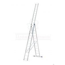 Лестница алюминиевая трёхсекционная (5313) Алюмет в наличии в Ижевске от компании Строительное оборудование Ижевск.