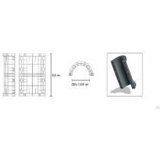 Элемент круглой колонны В=400мм в наличии в Ижевске от компании Строительное оборудование Ижевск.