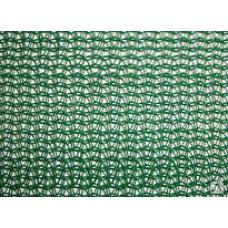 Сетка фасадная зеленая 2х100м; 35гр/м2