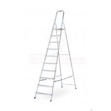 Лестница - стремянка алюминиевая 10 ступеней Алюмет в наличии в Ижевске от компании Строительное оборудование Ижевск.