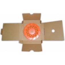 Чашка турбо  D180/22,23/12 (30x6x8) GrOST для мозаично-шлифовальной машины в наличии в Ижевске от компании Строительное оборудование Ижевск.
