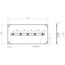 Комплект лопастей для затирочн. маш. GROST - 150х300 мм (4шт.) в наличии в Ижевске от компании Строительное оборудование Ижевск.