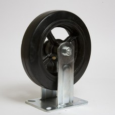 Колесо большегрузное резина черная неповоротное FCD 100 в наличии в Ижевске от компании Строительное оборудование Ижевск.