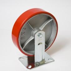 Колесо большегрузное полиуретановое неповоротное FCP 125 в наличии в Ижевске от компании Строительное оборудование Ижевск.