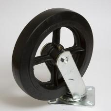 Колесо большегрузное резина черная поворотное SCD 125 в наличии в Ижевске от компании Строительное оборудование Ижевск.