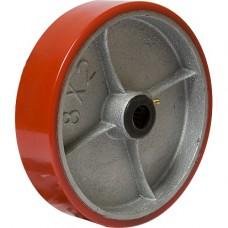 Колесо большегрузное (полиуретан) без опоры P 125 в наличии в Ижевске от компании Строительное оборудование Ижевск.