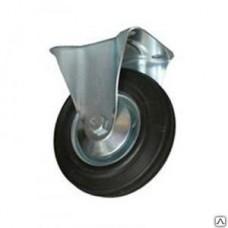 Колёсная опора промышленная неповоротная 100 мм (FC 46)