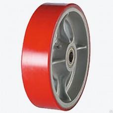 Колесо большегрузное полиуретановое, без кронштейна  (ZBP)