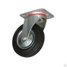 Колесная опора промышленная поворотная 125мм (SC 55)