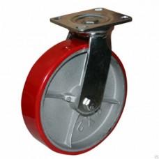 Колесо большегрузное полиуретановое поворотное (ED01 ZBP)