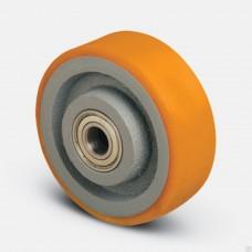 Колесо большегрузное полиуретановое без кронштейна 80мм (VBР)