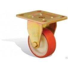 Колесо большегрузное полиуретановое не поворотное 80мм (ED02 VBР)